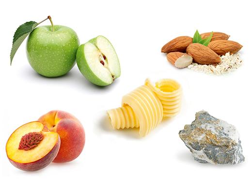 Sekt kann aus quasi allen Rebsorten hergestellt werden, die typischen Aromen sind zum Beispiel Apfel, Mandel, Butter, Pfirsich und Mineralik.