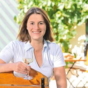 Katharina Pieroth kümmert sich um die Geschicke des Weingutes