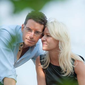 Hans und Uli Setzer in Ihren Weinbergen