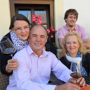 Weinfamilie Schuh, alle ziehen an einem Strang
