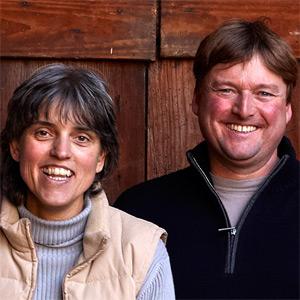 Inhaber Hanspeter Ziereisen mit seiner Frau Edeltraud