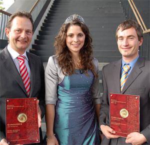 Siegbert Bimmerle bei der Verleihung des Landesehrenpreises für Baden 2012. Hier wurde das Weingut Bimmerle gleich zwei mal ausgezeichnet.