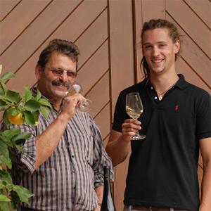 Ernst und Christian Dautel in ihrem Element