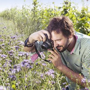 Alwin Jurtschitsch bei seiner Leidenschaft dem Fotografieren