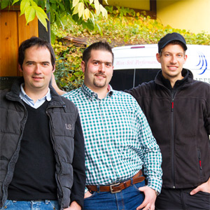 Die Truppe für den Erfolg am Kaiserstuhl, Weingut Kiefer